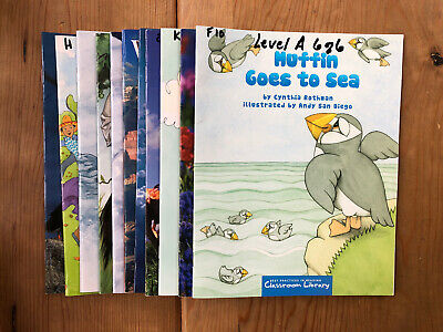 Lot of 11 Unique Guided Leveled Readers Reading Books Levels ABCD Grade 1 & Up