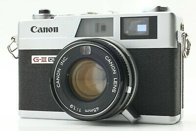 【EXC++】 Canon Canonet QL19 G-III 35mm Rangefinder Manual Film Camera Japan 2007