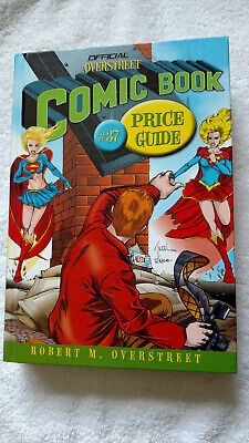 OVERSTREET COMIC BOOK PRICE GUIDE #37, HARDCOVER. Supergirl