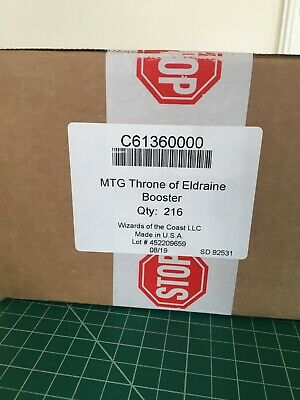 Magic MTG - Throne of Eldraine - Booster Case (6 Boxes) - NEW FACTORY SEALED