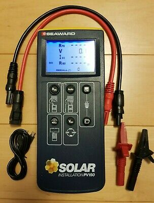 Seaward PV150 Solar PV Test Meter with Sunclix Leads 915Mhz