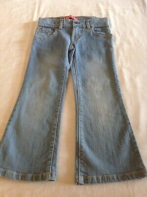 Girls Levis denim jeans size 5 flared pants style 517