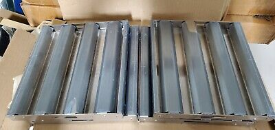 """Baffle Stainless Steel Hood Filter 9"""" x 10""""- 1 Filter (4 Available)"""