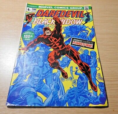 DARE DEVIL BLACK WIDOW CARTOON COMIC POSTER ART PRINT  AMK2056