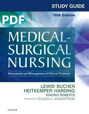 Medical Surgical Nursing 10th Edition STUDY GUIDE