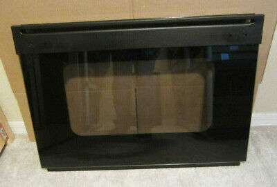 """Ge. 30"""" Wall Oven, Black Door Glass Assembly, Wb57T10209"""
