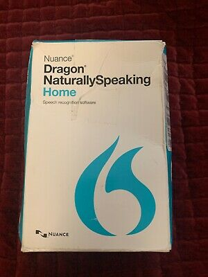 Nuance Dragon Naturally Speaking Home 13 Version 13.0 w/ Headset