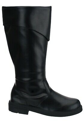 Mens Tall Black Costume/Pirate Boots