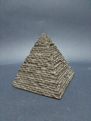 Rare Antique Ancient Egyptian Statue Stone healing Black Pyramid 2600 BC