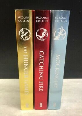 The Hunger Games Trilogy 3 Paperback Books Complete Set by Suzanne Collins 2010