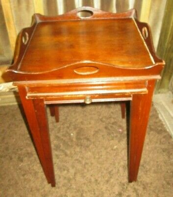 2 Vintage nesting Mersman End Side Accent Tables Nightstand #7243