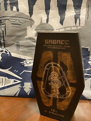 Disney Star Wars: Galaxy's Edge SABACC Cards Deck Box Unopened Brand New
