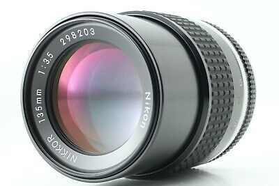 【APPEARANCE MINT AS IS】 Nikon Ai-s Ais Nikkor 135mm f/3.5 Manual Lens Japan 1532