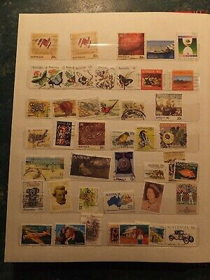 BULK LOT UNSORTED 500g AUSTRALIAN & INTERNATIONAL STAMPS, ON & OFF PAPER.