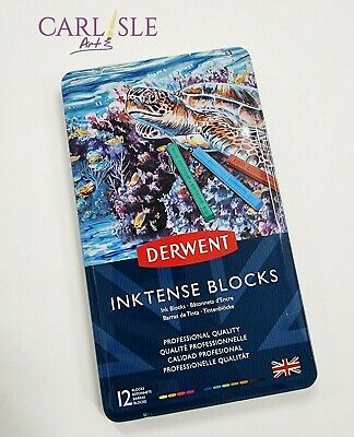 Derwent - Inktense Blocks - Tin Set Of 12