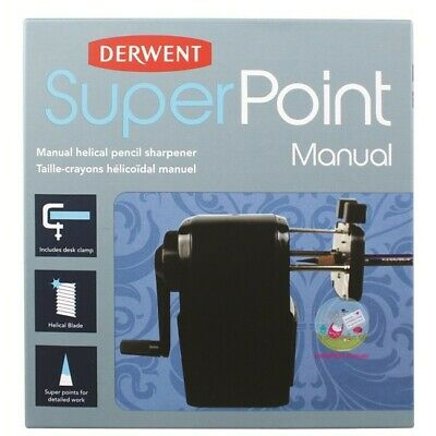 Derwent - Super Point Manual Helical Pencil Sharpener (2302001)