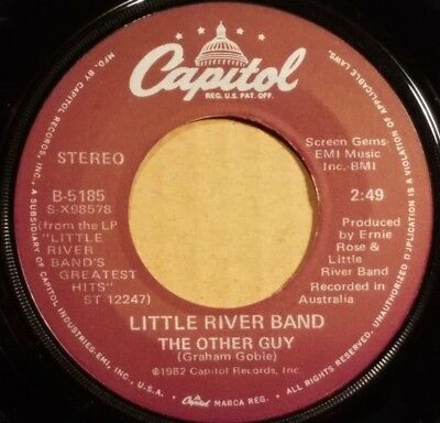 "The Other Guy by Little River Band 7"" single 45rpm (1982 Capitol B-5185)"