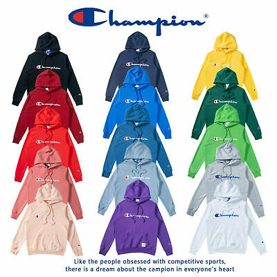 Free New Women's Men's Classic Champion Hoodies Embroidered Hooded Sweatshirts