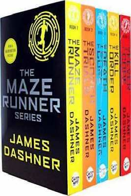 Maze Runner Series James Dashner 5 Books Set Pack