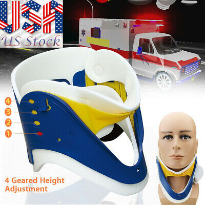 Adjustable 4 Gears Cervical Neck Traction Device Collar Brace Support Medical US