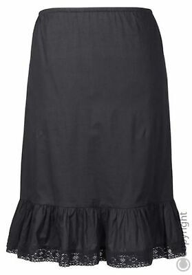 New Style by Sheego Dirndl - Petticoat Skirt Black short Length Ca. 72 cm Size