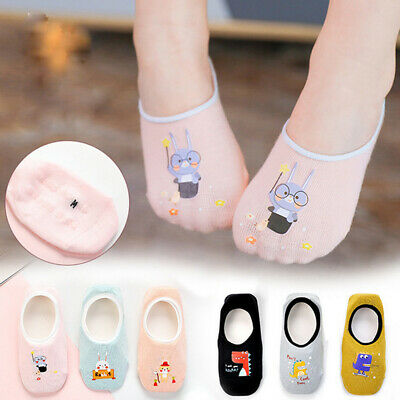 3 Pairs Baby Boy Girl Cotton Cartoon Socks NewBorn Infant Toddler Kids Soft Sock