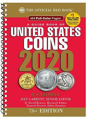 A Guide OFFICIAL RED Book of United States Coins 2020SPIRAL EDITION NOW SHIPPING