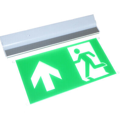 LED emergency exit sign maintained 3h wall ceiling mounted 7 Legends 3W led