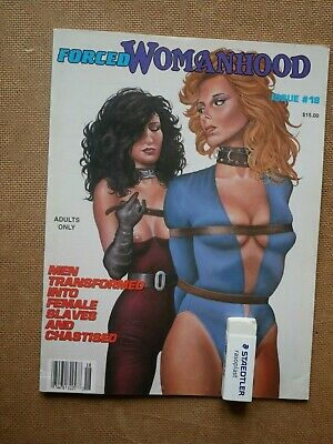 Magazine US FORCED WOMANHOOD 18 / TV Transvestite Transsexuel Travesti Female