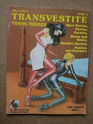 Magazine US TRANSVESTITE Trans-Formed Vl 1 No 2 TV Transsexuel Travesti She-Male