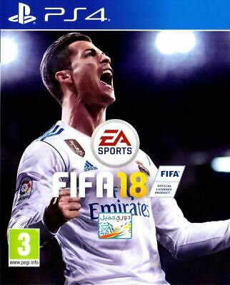 FIFA 18 PS4 2018 Playstation New and Sealed
