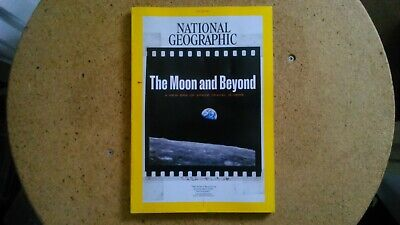 National Geographic July 2019 - The Moon & Beyond