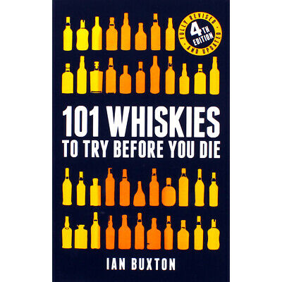 101 Whiskies To Try Before You Die by Ian Buxton (Hardback), Christmas Shop, New
