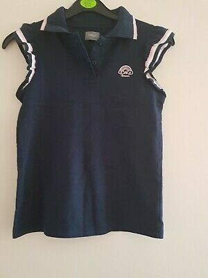 Next Girls Summer Top * Age 9 * Navy And Pink