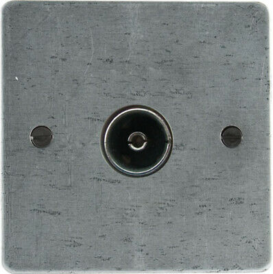 From The Anvil TV/FM Axial Socket - Pewter Patina