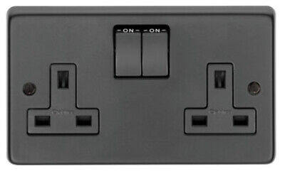 From The Anvil MB Double 13 Amp Switched Socket