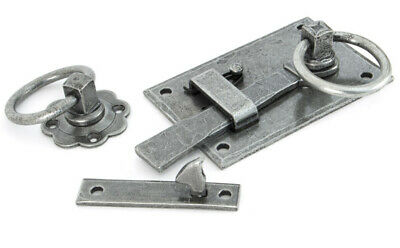 From The Anvil Pewter Cottage Latch - RH