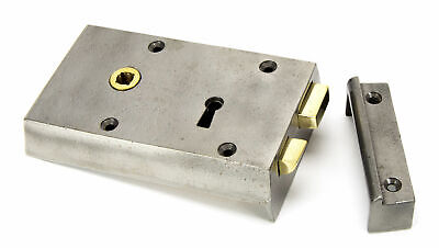 From The Anvil Iron Left Hand Rim Lock - Small