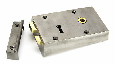 From The Anvil Iron Right Hand Rim Lock - Small