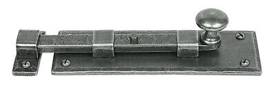 From The Anvil Pewter 6'' Straight Knob Bolt