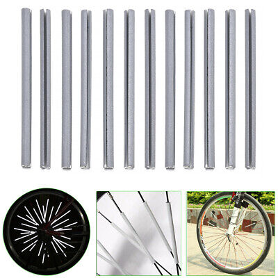 Bike Bicycle Cycling Spoke Wheel Reflector Reflective Safety Stocking Filler 12x
