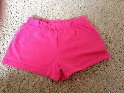 Mothercare Girls Bright  Pink Shorts  Age 2-3 years- good condition