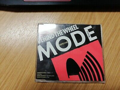 Depeche Mode - Behind The Wheel Remix 1987 CD Single (CD BONG 15).