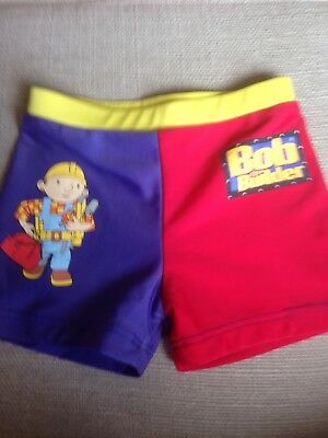 """Ladybird """"Bob the Builder"""" Swimming Shorts AGE 1.5-2 YEARS"""
