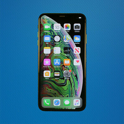 Good - Apple iPhone XS Max 256GB Space Gray (AT&T ONLY - CAN'T UNLOCK) Free Ship