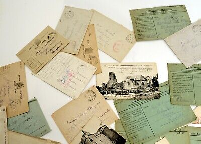 WW1 Stamped/Censored envelopes and cards- Approx. 60