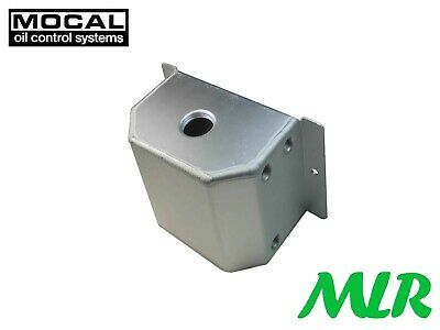 Mocal 1 Litre Alloy Aluminium Catch Tank / Engine Breather Tank Bvc