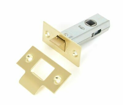 From The Anvil Electro Brass 2.5'' Tubular Mortice Latch
