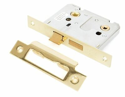 """From The Anvil Electro Brass 3"""" Bathroom Mortice Lock"""