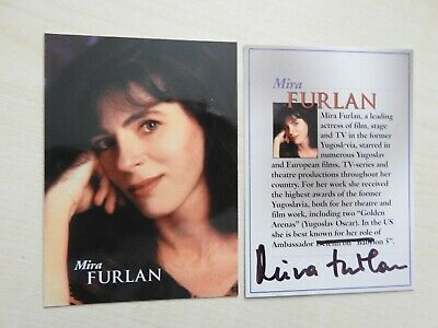 Babylon 5 Special Edtion Mira Furlan Autograph unnumbered card extremely limited